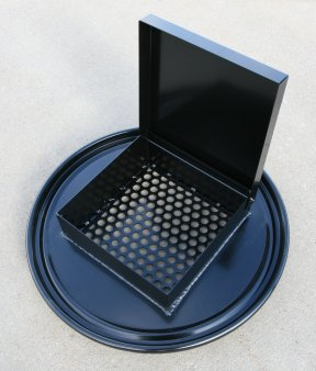 55g Drum Perforated Steel Collection Lid