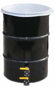 55 gallon Drum w/Fittings